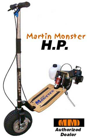 http://www.neoscooters.com/comparisonchart/Martin Monster High Performance Gas Scooter